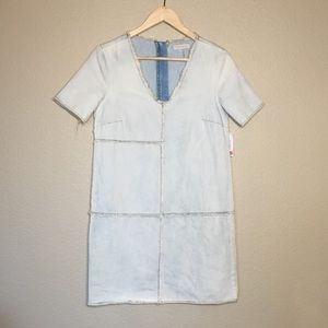 1. State denim patch dress XS NWT